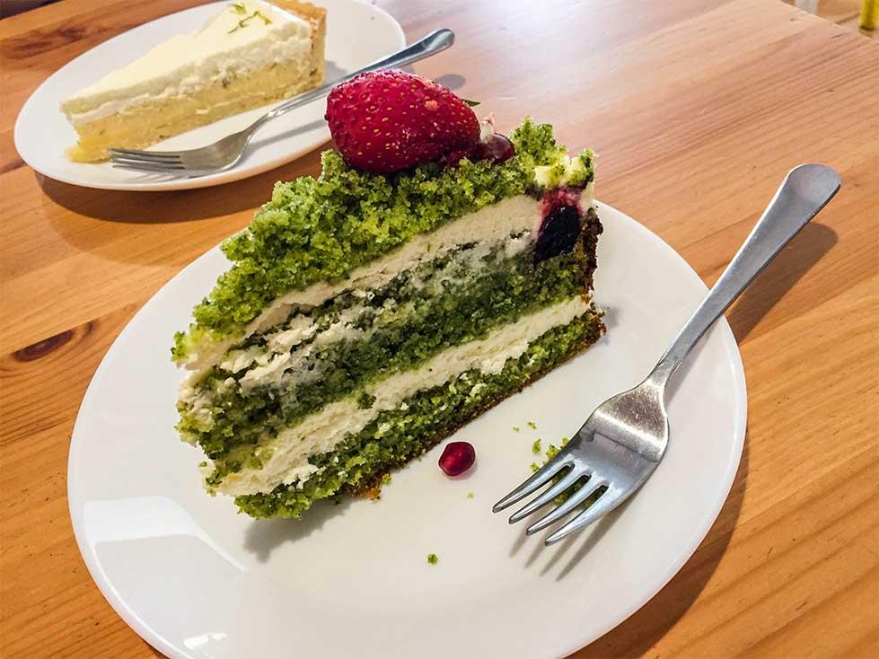 Ciasto szpianakowe w Słodkawa Zabrze