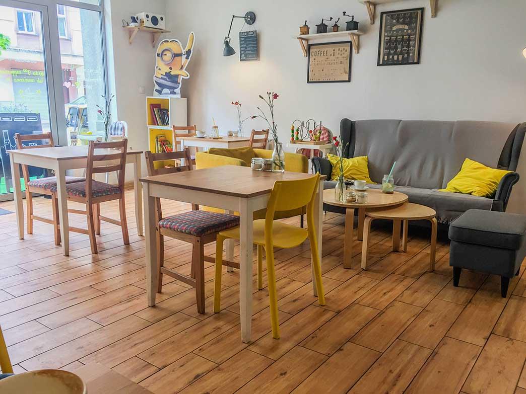 Kawiarnia w centrum Zabrza