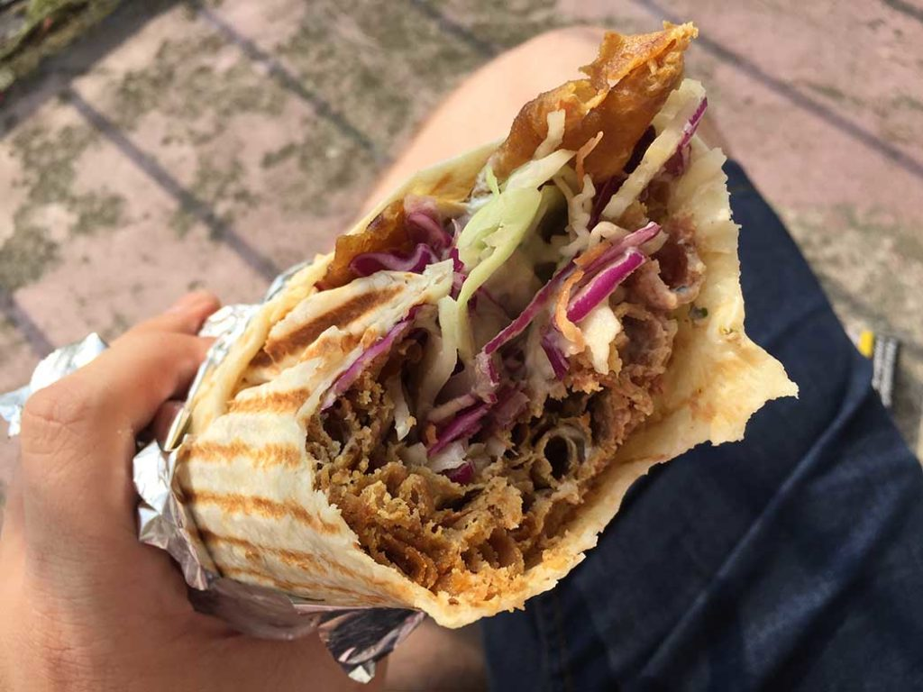 Kebab obok Górnika Zabrze