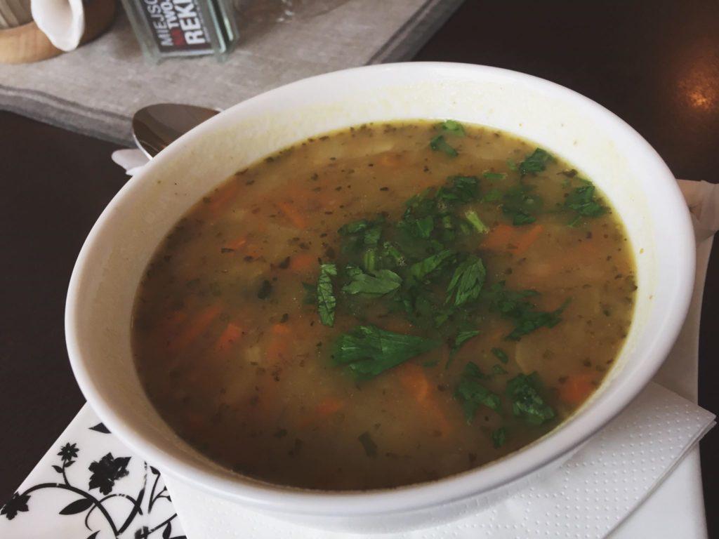 Starpopolska zupa ziemniaczana w Starej Drukarni