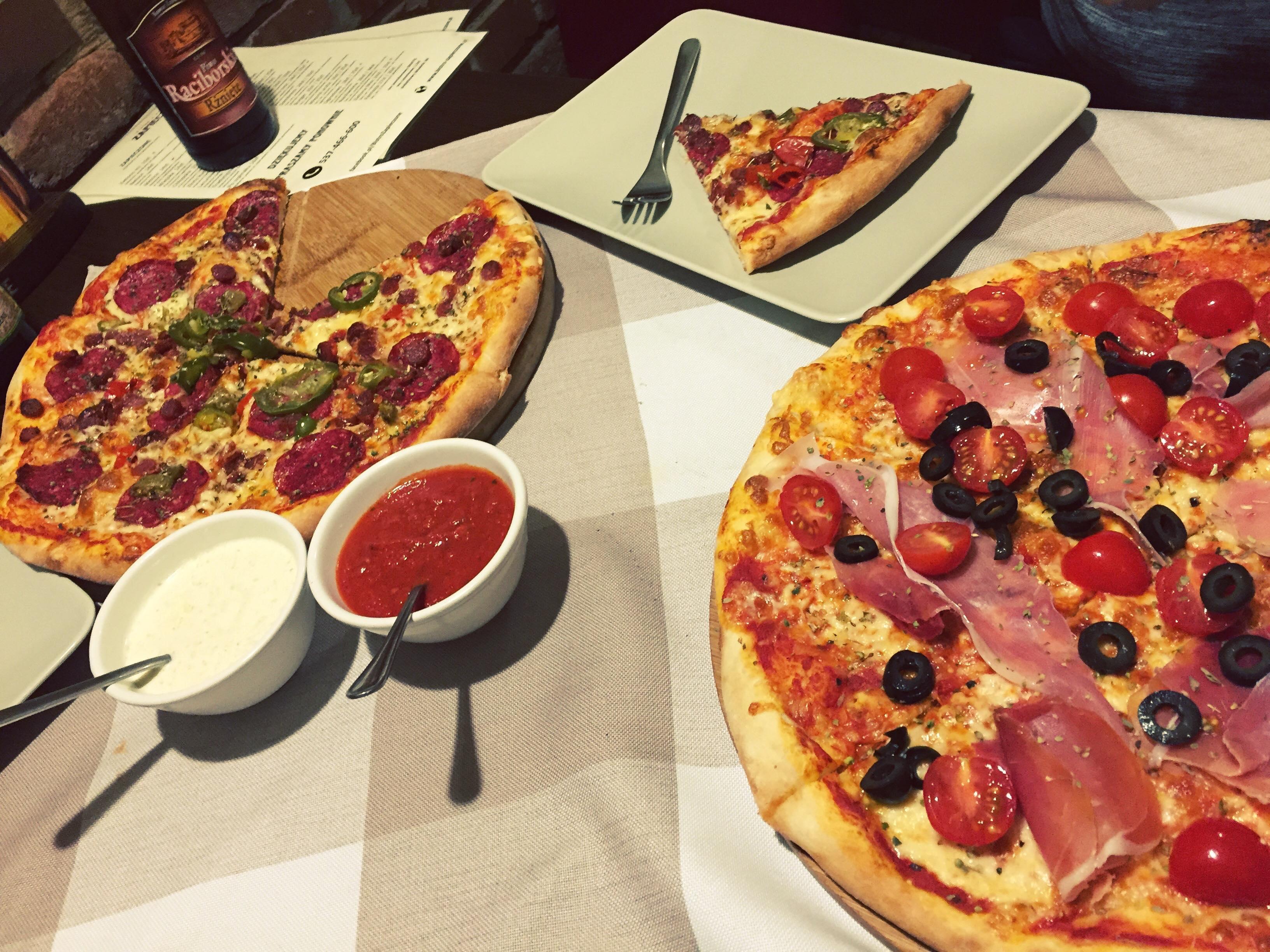 Pizza zamówiona w Zabrzu