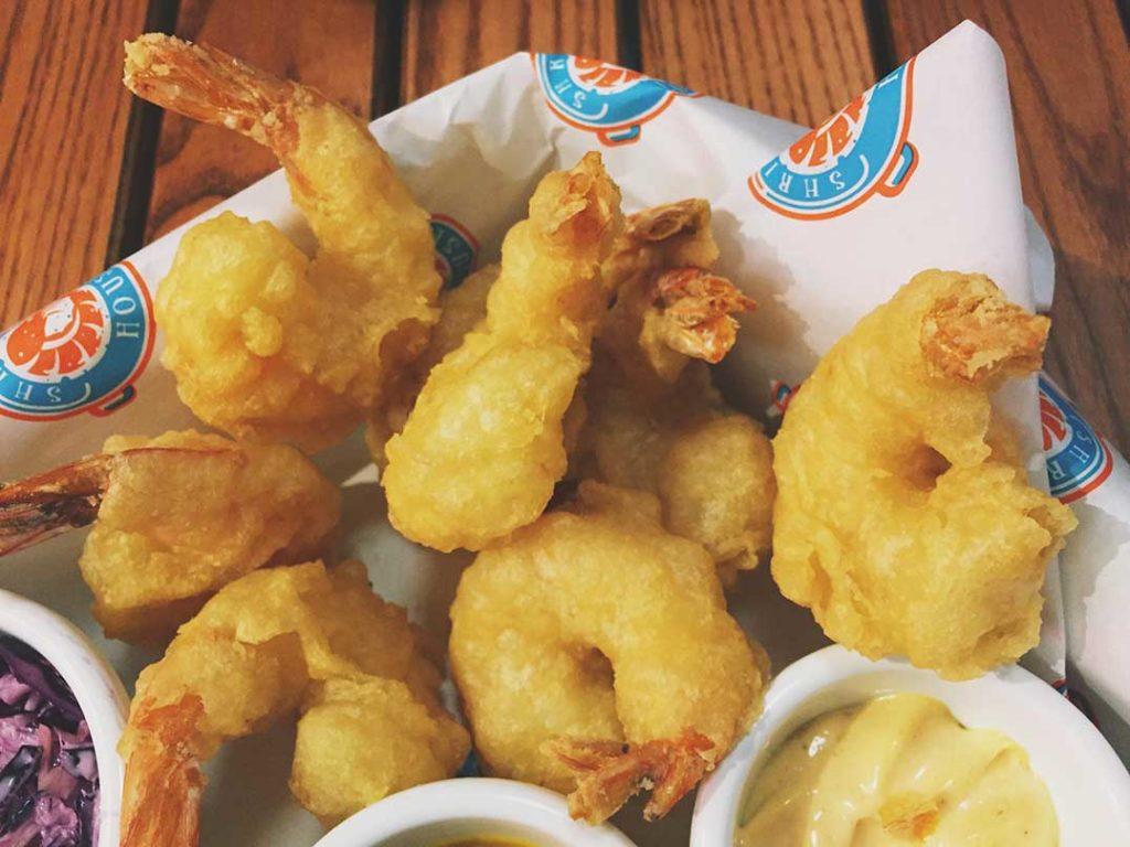Tempura shrimps w Gliwicach