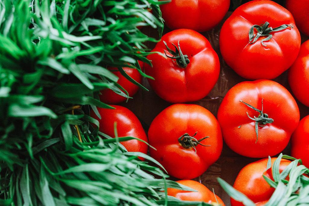 Włoskie pomidory