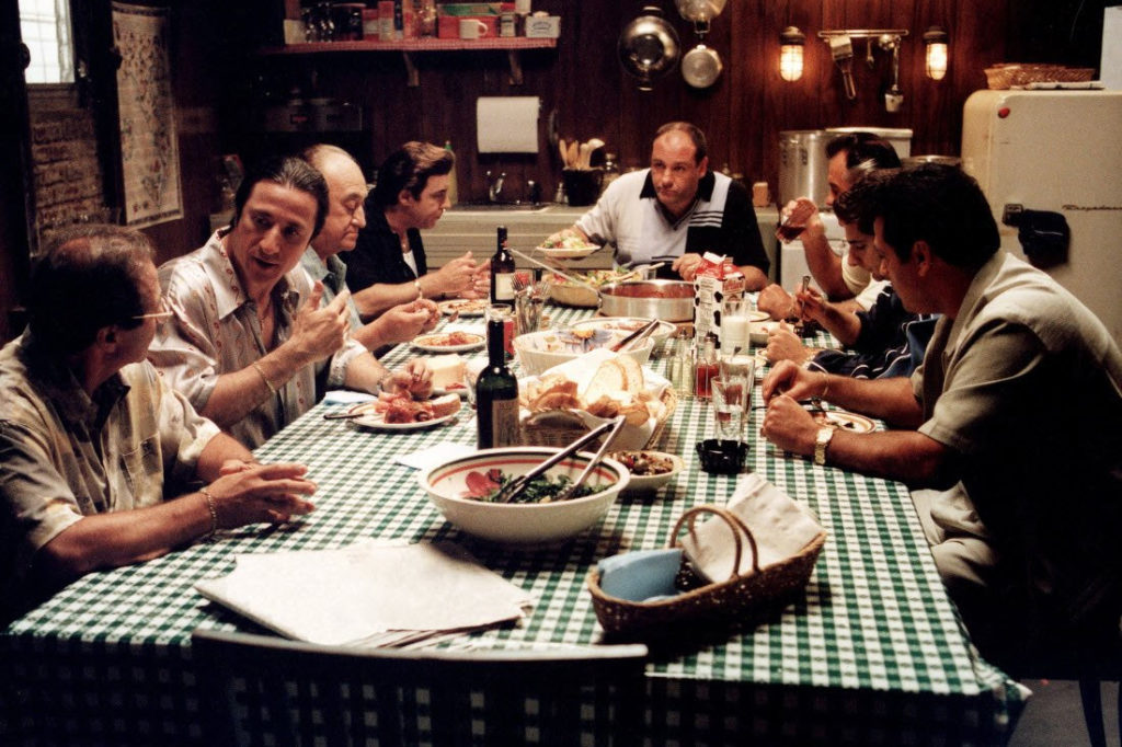 Jedzenie w Rodzinie Soprano