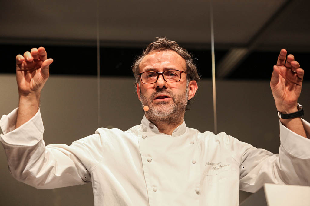 Massimo Bottura, szef Osteria Francescana