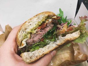 Wołowina w burgerze Grillpoint
