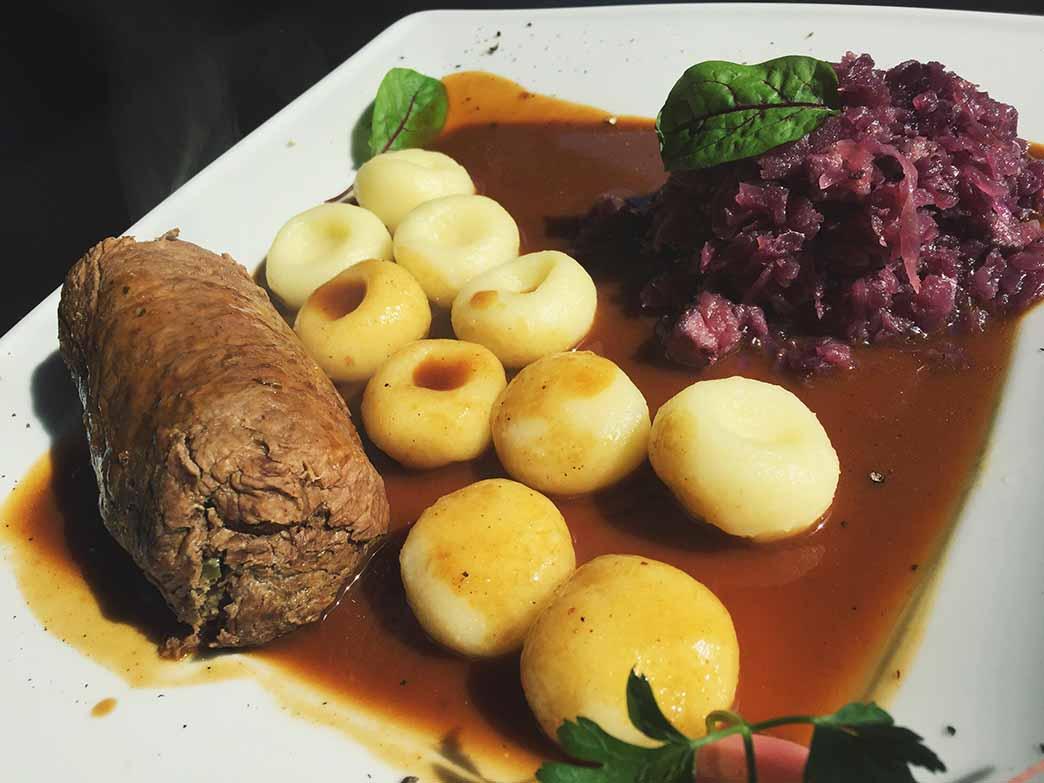 Śląski tradycyjny obiad w restauracji Tygel Zabrze