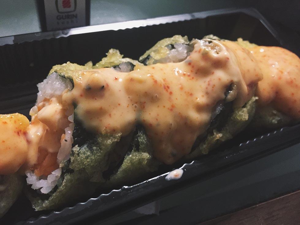 Sushi w Bytomiu - w tempurze
