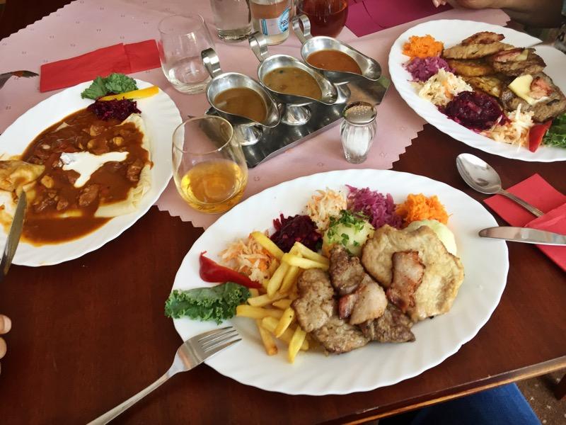 Obiad w Restauracji Balaton Zabrze