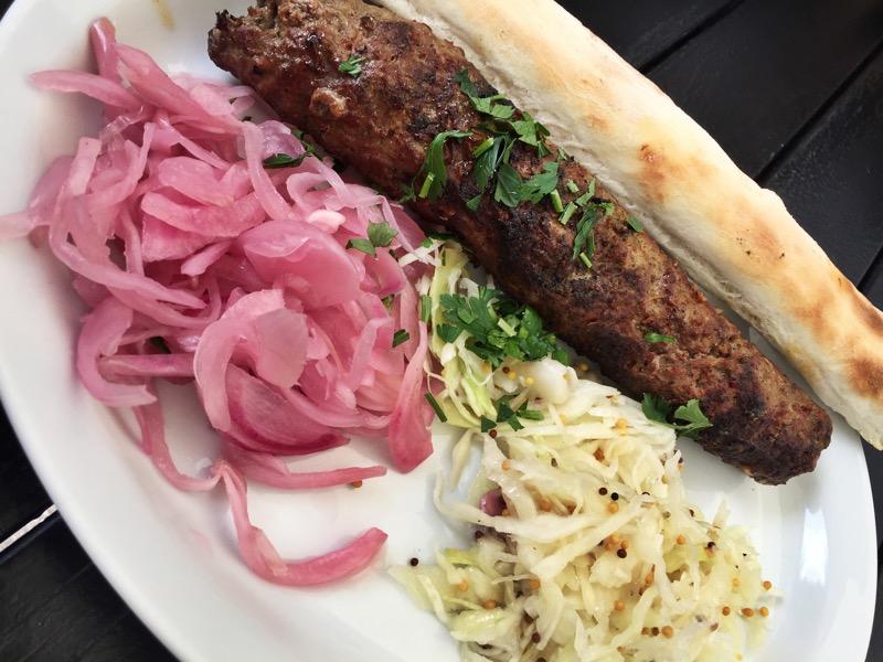 Lula Kebab w restauracji Moja Gruzja Gliwice